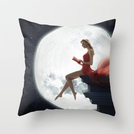 Romantic Mood Throw Pillow