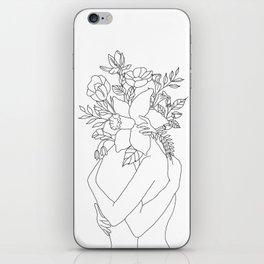 Blossom Hug iPhone Skin