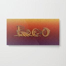 Drascoserific Leo Metal Print