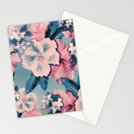 Vintage Nui Loa Hibiscus Stationery Cards