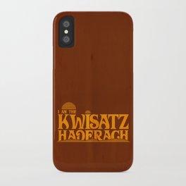 Kwisatz Haderach iPhone Case