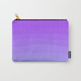 Pastel Lavender Ombre Sky Carry-All Pouch