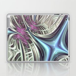 Cosmic Orchid - Fractal Art Laptop & iPad Skin