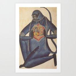 Hindu - Hanuman Kunstdrucke