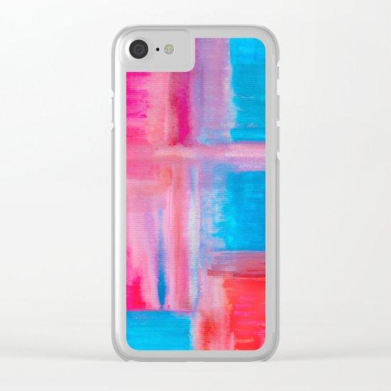 Improvisation 21 Clear iPhone Case