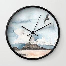 Fort National de Saint-Malo Wall Clock