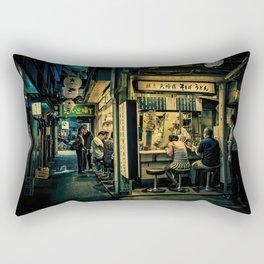 Late Night Scene/ Anthony Presley Photo Print Rectangular Pillow