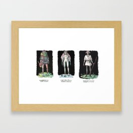 Folklore / Rusalka, Bard and the Boy Framed Art Print