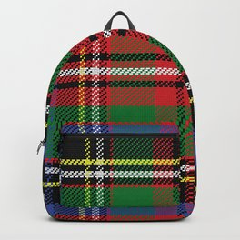 Christmas Colorful Plaid Pattern Backpack