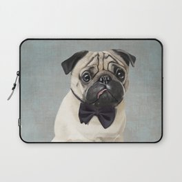 Mr Pug Laptop Sleeve