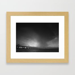 Severn Crossing 05 - Severn Beach Framed Art Print