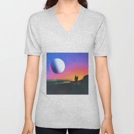 Surfin Geocities Unisex V-Neck