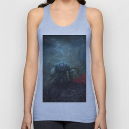 The Black Knight Prevails! Unisex Tank Top