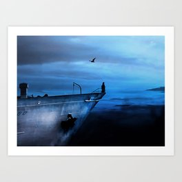 icecold longing Art Print