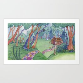 The Witch's House Art Print