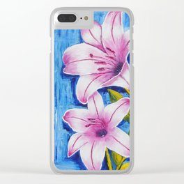 Lily | Lys Clear iPhone Case