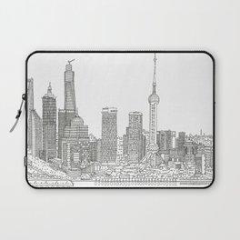 METROPOLIS - SHANGHAI #02 Laptop Sleeve