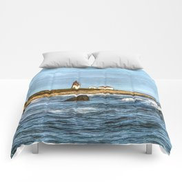 Soothing Ocean Sounds and Sights Comforters