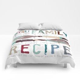 Secret Family Recipe Comforters