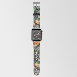 Strawberry Thief by William Morris 1883 Antique Vintage Pattern CC0 Spring Summer Apple Watch Band