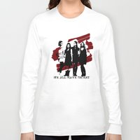 pretty little liars Long Sleeve T-shirts featuring Pretty Little Liars by Rose's Creation