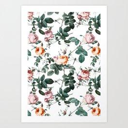 Floral and Winged Darter Kunstdrucke