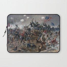 The Battle of Spotsylvania Court House - Civil War Laptop Sleeve