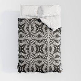 Black Slate Gray Pattern Comforters