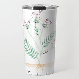 Siembra Amor Travel Mug