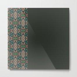 Rainforest Pattern - ocelot spots I Metal Print