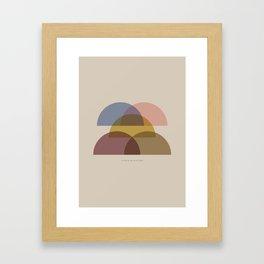 Rose Two Framed Art Print