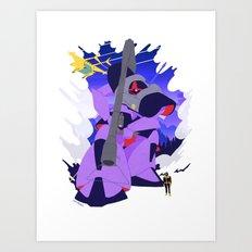 The Black Tri-Star's Dom Art Print