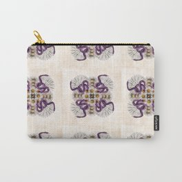 Deadly Daisy Quilt Pattern Carry-All Pouch