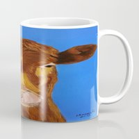 cow Mugs featuring Cow by maggs326