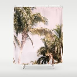 Floridian Palm Tree Vibes #2 #tropical #wall #decor #art #society6 Shower Curtain
