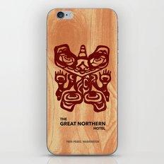 Great Northern Hotel Twin Peaks iPhone & iPod Skin