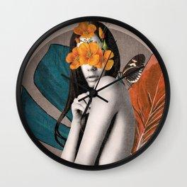 Tropical Girl 5 Wall Clock