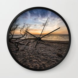 Salvo - OBX - Outer Banks, NC Wall Clock
