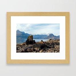 Scottish landscape of Isle of Skye Framed Art Print