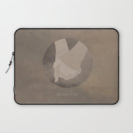 Your Hand In Mine. Laptop Sleeve