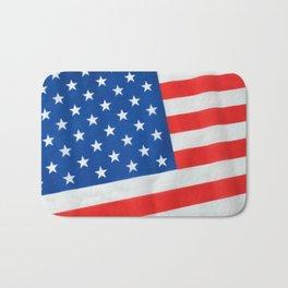 American Flag 3 Bath Mat