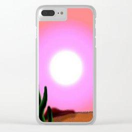 NevadaHeat Clear iPhone Case