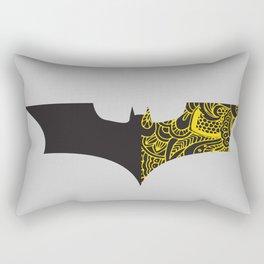 Laced BAT-man Rectangular Pillow