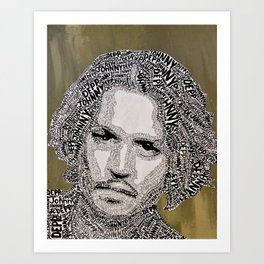 Johnny Johnny Art Print