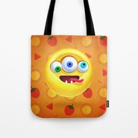 positive Tote Bags featuring Positive by Keyspice
