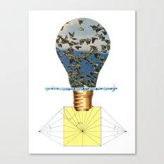 Ideas Come, Ideas Go Canvas Print
