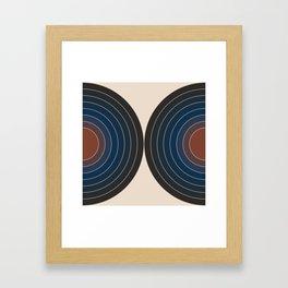 Sonar - Dusk Framed Art Print