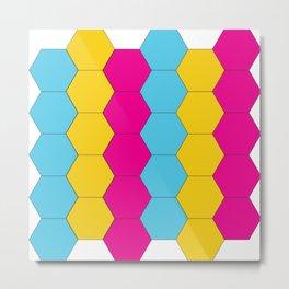 Hexagon 1.0 Metal Print