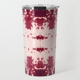 Kumo Ikat Ruby Travel Mug