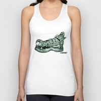 converse Tank Tops featuring Converse Bite  by Marisa
